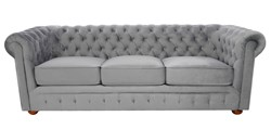 Sofa Chesterfield Duża 3 osobowa